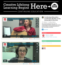 Continuing education   continuing studies at the university of the arts on vimeo 1310046177854 cv