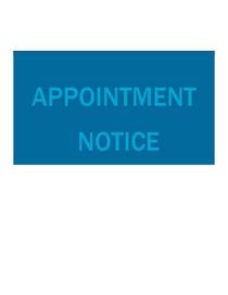 Appoint cv