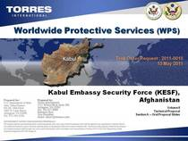 Torres international kesf cover cv