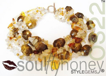 Queenbee necklace cv