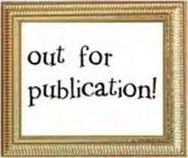 Out for publication sign cv