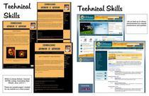 Portfolio   technical skills cv