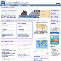 Flu homepage cv