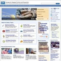 Cdc homepage cv