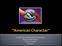 American character jpeg cv