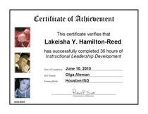 Ild certificate cv