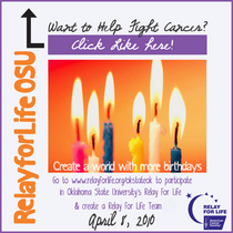 Relay for life facebook cv
