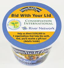 Stonyfield bidwithlid yogurtcup print cv
