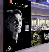 Hamilton watch store front cv