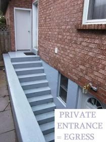 Private entrance   egress cv