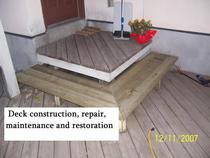 Deck construction   repair   maintenance   restoration cv