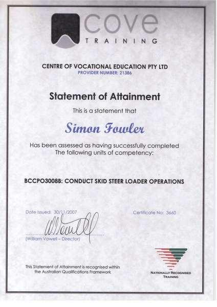 simon fowler - crane operator