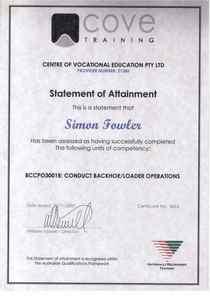 20080912   backhoe   loader operations cv