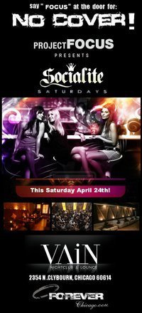 Pf vain nightclub flyer cv