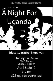 A night for uganda flyer cv