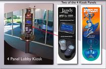 Lobby kiosk cv