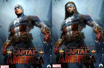 Captain america  comparison cv