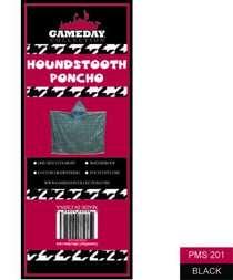 Houndstooth poncho cv