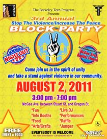 Block party 2011 flyer cv