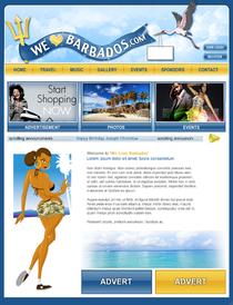 Bajan website cv