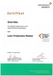 Zertifikat ansbach cv