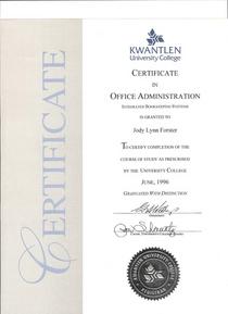 Certificatejforsteroffadminbook cv