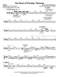 Hosanna   rhythm cv