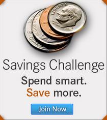 Savings challenge promo cv