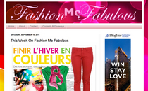 Fashion me fabulous screen shot fashion blog cv