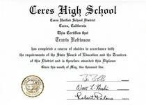 Hs diploma cv