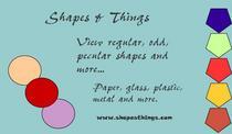 Shapes things cv