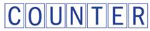 Counter logo cv