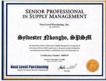 Spsm certification cv