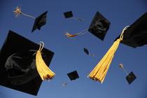 Graduation caps cv