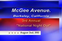 National night out freez frame still cv