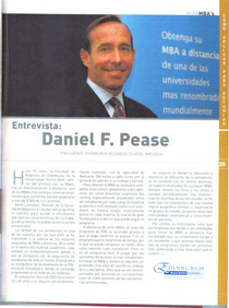 An interview in a magazine a guide to mba s cv