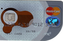Image of 1st non rectangular card in the world cv
