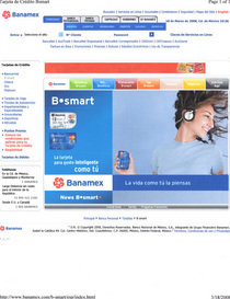 Banamex largest bank in mexico adopting the new design cv