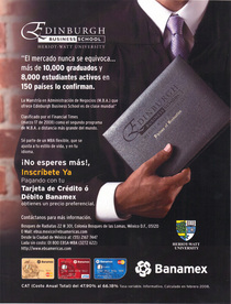Commercial alliance with ebs business school and banamex wave 1 cv