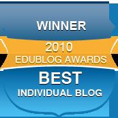 Winner individualblog cv