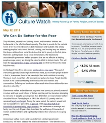 Culture watch  we can do better for the poor 1305298903658 cv