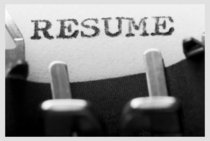 Resume writing cv