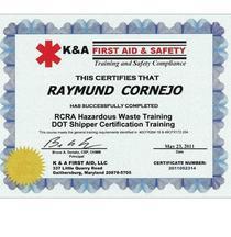 K a first aid cert 2010 cv