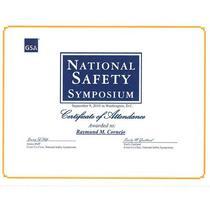 Safety symposium 2010 cv