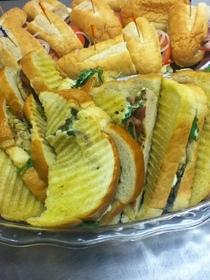 Chicken breast sandwiches cv
