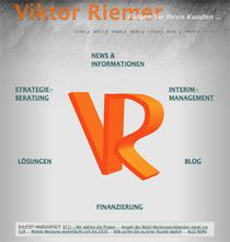 Website vr cv