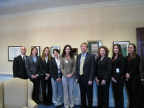Interns with jim brochin cv
