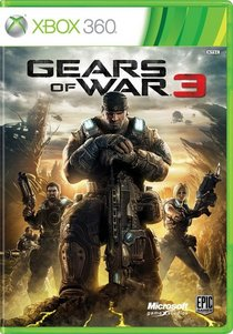 Gears of war3 box art cv