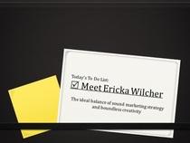 Meet ericka wilcher cv