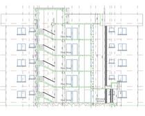 5 storey apartment block cv